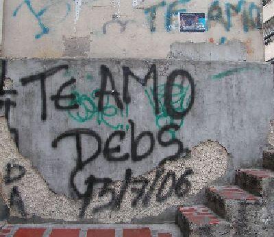 Grafitti: !Viva la Arepa!